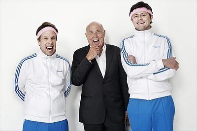 Filip Hammar, Ingvar Oldsberg och Fredrik Wikingsson.  Foto:Daniel Jälmbratt/Kanal 5.