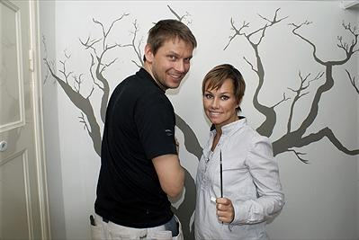 Roomservice - Johnnie Krigström och Linda Bengtzing.