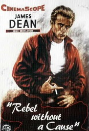 James Dean i den rollen som förevigade honom: den tonårige rebellen Jim. © Warner Bros.
